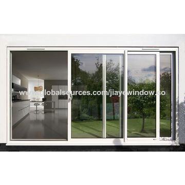 China Hot Sale Double Glass Aluminum Frame Folding Door Reasonable