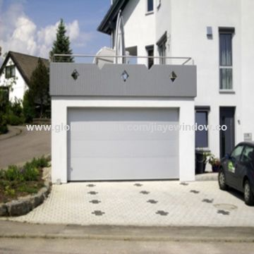 China Residential Electric Aluminum Roller Shutter Garage Door On