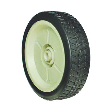 China Solid Rubber Tire With Plastic Rim For Honda Lawn Mower