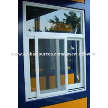 office sliding window interior china pvc sliding window for steel structure office house on global