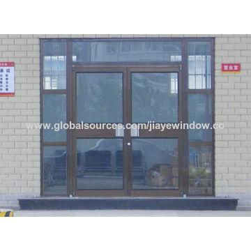 China Exterior Tempered Glass Aluminum Kfc Door On Global Sources
