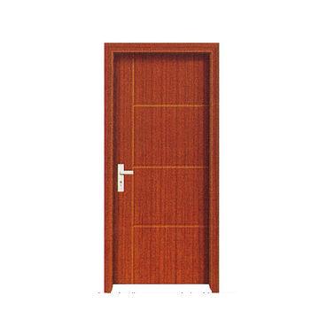China Puerta De Madera Interior Economica Del Pvc Del Mdf Encendido - Puertas-madera-interiores