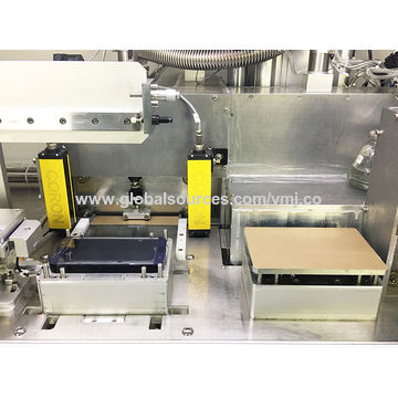 Automatic temper glass satin film bonding machine for Samsung colorful temper glass film laminating