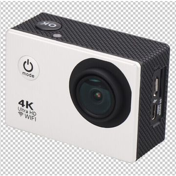 Wi-Fi 4K Sports Camera with 170 Degrees Wide View Angle FHD Sports DV Camera