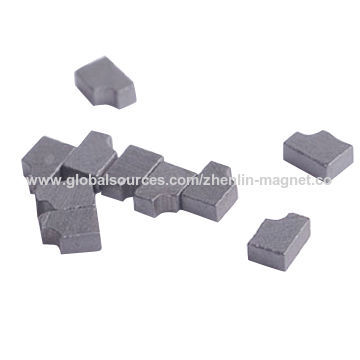China Precision Micro Magnets with Complicated Shape, Made of