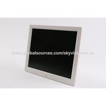 China 14-inch HD digital photo frame, narrow and slim body, table ...