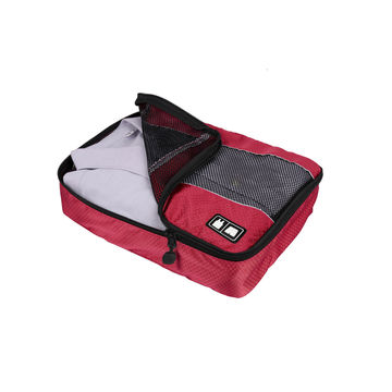 China Travel packing bag, made of polyester & mesh, different sizes can be chosen, OEM & ODM both welcomed