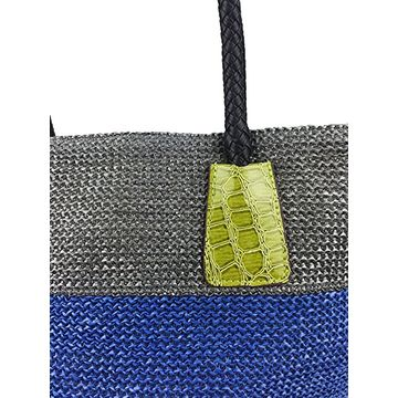 China Pretty Cute Durable Straw Handbags By Green Designer Suitable For Summer