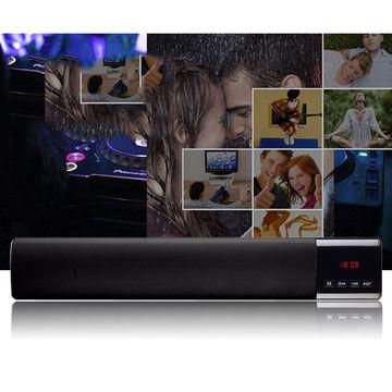 LED digital clock display Bluetooth speaker manufacturer, portable, wireless, touch key, woofer