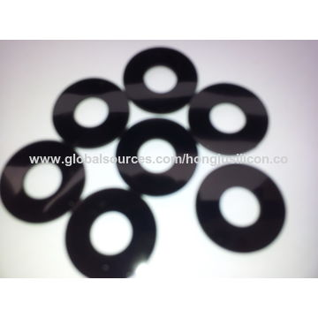 China Solid rubber silicone washer on Global Sources