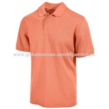 China custom make no brand polyester cotton polo shirt on for Make a polo shirt