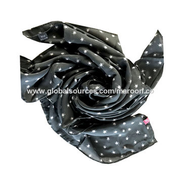 Fashion Printed Long Silk Scarves