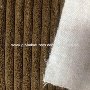 China 1w Corduroy With Tc Bonded Sofa Fabric