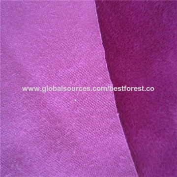 China 100 Polyester Super Soft Velvet Upholstery Fabric On Global