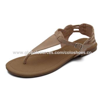 2017 Fashionable Women's Sandals, Social Audited OEM/ODM, New Design Women's Sandals