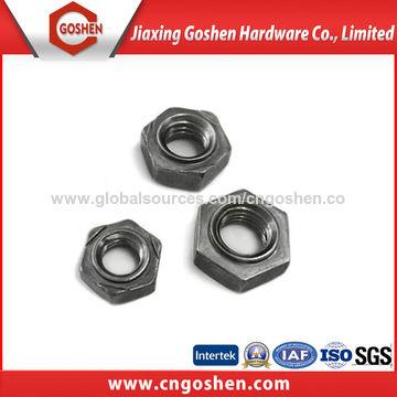 Harden carbon steel hex weld nut, DIN929