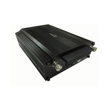 Intelligent 4 channal AHD HDD Mobile DVR with 3G/4G, GPS and WIFI for vehicle CCTV system.