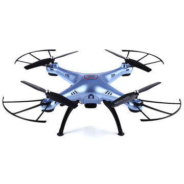 Gyro RC Headless Quadcopter Drone with HD WiFi Camera 2.4GHz 4CH 6-Axis