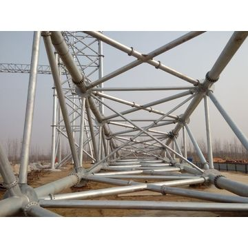 ISO 9001 Substation Structures for Transfomer Switch Yard
