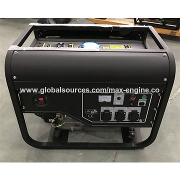 Portable generator, 5kW, 100% copper wire