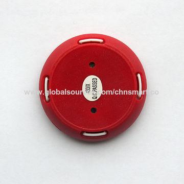 China 1-button ultra-thin waterproof wireless call button