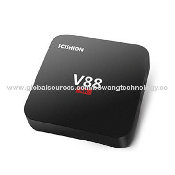 V88 Android 5.1 TV box with multiple language function