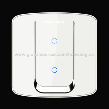 China Smart Home Touch Wi-Fi Screen Wall Light Switch for Home Automation