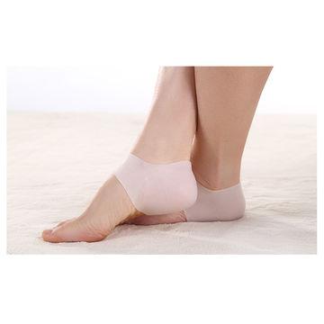 Silicone heel protector feet care pad