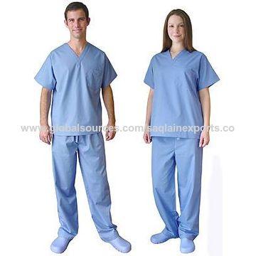 ... India Medical uniform scrub tops and pants V-neck nurse hospital tunic  pharmacy unisex custom