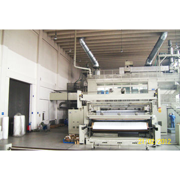 PP spunbonded nonwoven fabric production line