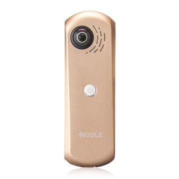New 360 Panoramic Camera, CMOS Pixel 2M,1080p Video, Lithium Battery for Android Smartphone