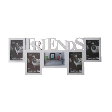China Fashion Modern family friend wooden collage photo frames on ...