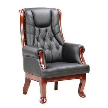 ... China Antique CEO Italy Style Wooden Executive Chairs, Wood Frame,  Leather Comfortable Seat ...