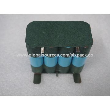 Lithium Battery, 14.8V 3Ah, 4S2P for electrical tools