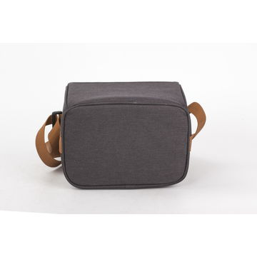 Lunch cooler bag with shoulder strap/carrying handle