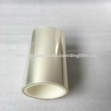 PET material and transparent PET clear film