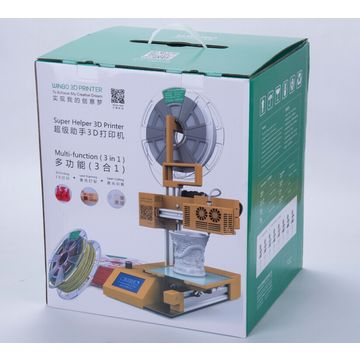 3.7kg multifunction 3D printer with laser engraving and cutting features