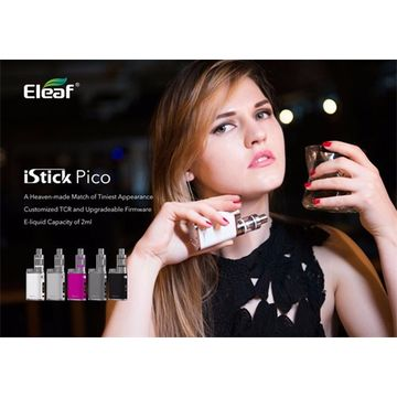 Authentic Eleaf E-cigs istick pico kit with istick pico mod with melo 3 for e liquid