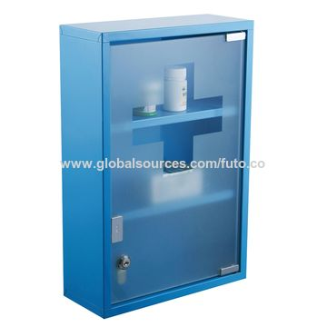 ... China Medicine Cabinet, With Glass Door And Lock ...