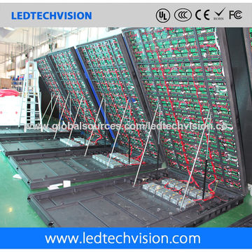 P10 outdoor LED billboard for Casino (front service LED sign 1600mm*960mm)