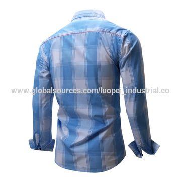 Men's checkered shirts