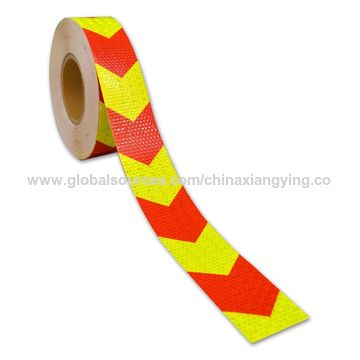 Industrial Honey Comb Prismatic Reflective Arrow Design Tape