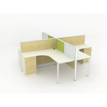 ... China Rapid Screen Partition/4 Persons Modular Office Workstations ...