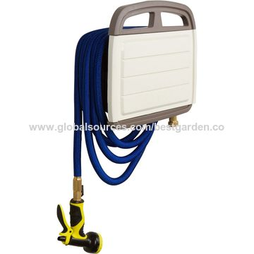 China Garden Hose Holder, Wall Mount With Customizable Storage Cabinet.