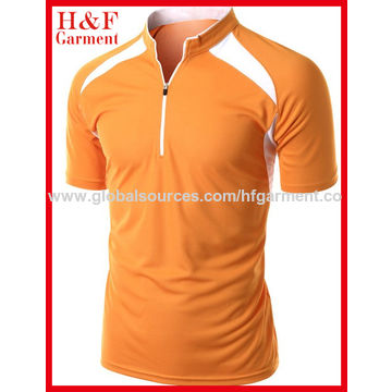 China Various Colors Men S Polo T Shirts Made Of Coolmax Fabric