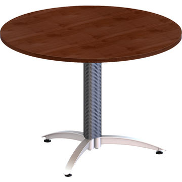 China Eco Friendly Wooden Round Small Coffee Tables For Meeting Room