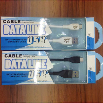 2017 New USB3.0 Fast Charging 1m Long Type-C Data Cable for Android Electronic Equipment
