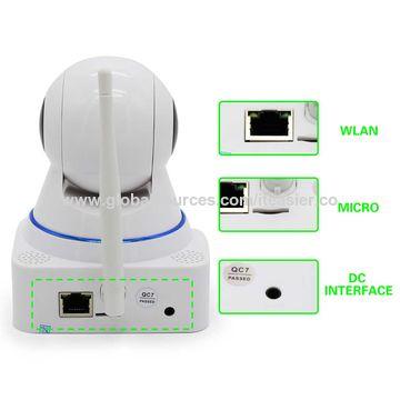 Megapixel IP Camera with 10 IR LEDs