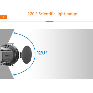 30 watts professional LED video light with remote control