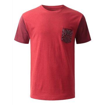 e08c24844 China Plain color new design plain pocket T-shirt for men on Global ...